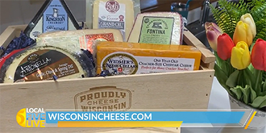 Celebrate Wisconsin with Chocolate and Cheese Board for Mom