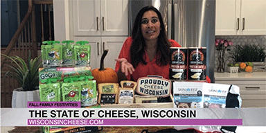 Anjali Varma features Wisconsin Cheese on FOX Colorado