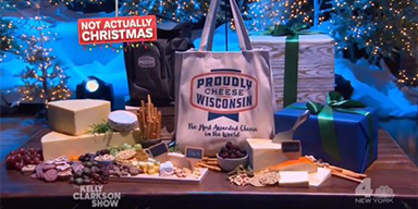 Wisconsin Cheese in the Spotlight on Kelly Clarkson Show
