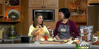 Scalloped Potatoes with Wisconsin Cheese Featured on Living With Amy