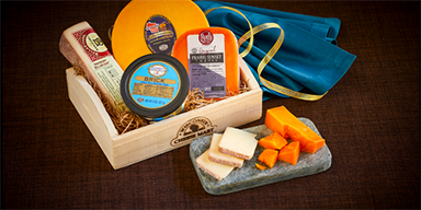 Yahoo! Entertainment: Wisconsin Cheese Makes the List of 21 Affordable Hostess Gifts!
